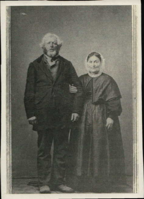 Thomas Bailey and Catherine Goggerty