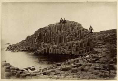 A picture of Giant's Honeycomb in County Antrim, Northern Ireland.