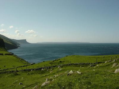 A picture of Rathlin island, Ireland.