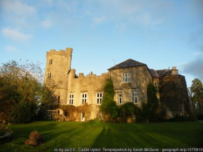 A picture of Upton Castle in Templepatrick, County Antrim, Northern Ireland.