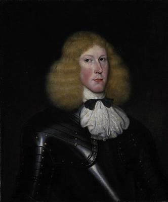 A portrait of Captain Robert Campbell of Glencoe who was one of the commanding officers at the Massacre of Glencoe.