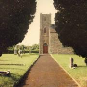 Bourney Church Entrance