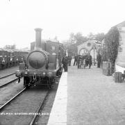 Athboy Station circa 1901 © National Library of Ireland: Lawrence Collection