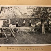 photo taken ca. 1937 of the home of James Connell (1875–1937), third son of William Connell (c.1841–1897) and Mary Anne (Minnie) Connell (1848 –1913) of Ballydehob.A