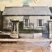 Bishop Hodson's Grammar School - Opened 1849 (from postcard of 1907)