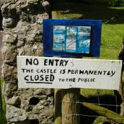 Cloghan Castle - Closed to the Publlic
