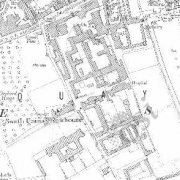 Dublin South Workhouse on Historic 25 inch map (1897-1913)