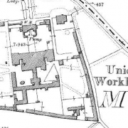 Kilmallock Workhouse on Historic 25 inch map (1897-1913)