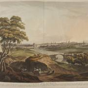 A view of the City of Dublin in 1816 (with Sarah's Bridge in the mid-foreground) by Thomas Sautelle Roberts