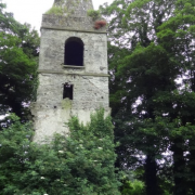 The tower in St. Nathlash's, outside Kildorrery, Co. Cork