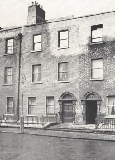 Image of 7 Eccles Street from James Joyce Online Notes