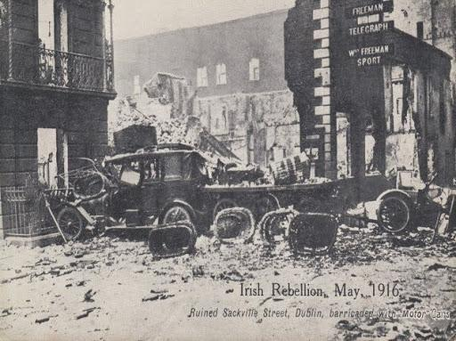 Image of Office Post 1916 Rising from James Joyce Online Notes