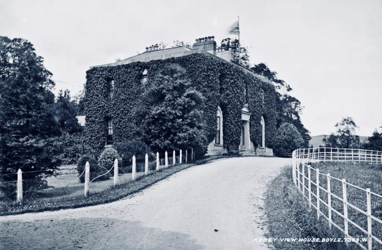 Abbey View House c. 1900 © National Library of Ireland (Robert French)