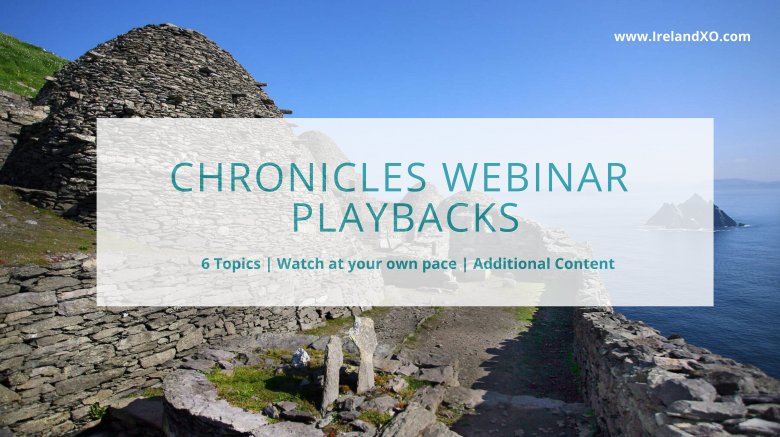 Chronicles Webinar Playbacks are now online!