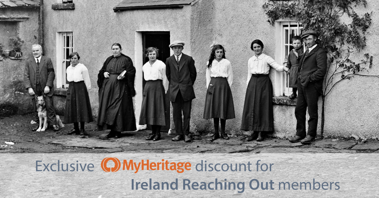 MyHeritage subscription deal exclusively for IrelandXO Members