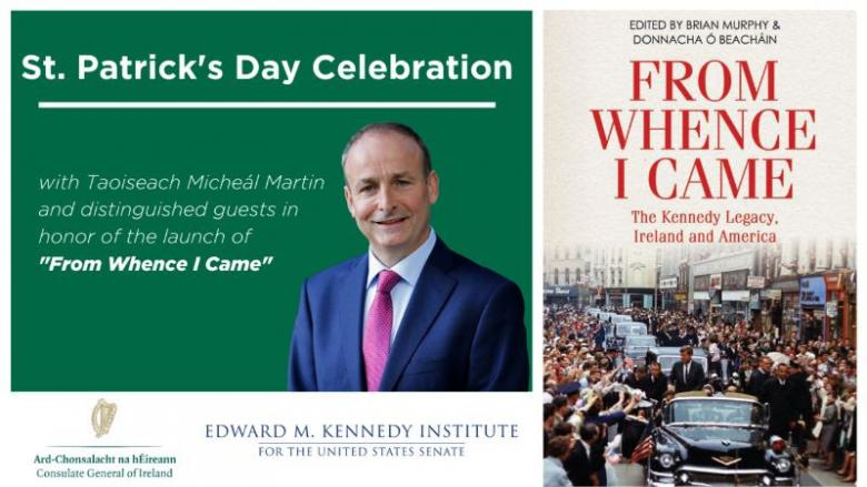 Taoiseach to Launch New Book - From Whence I Came