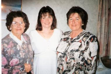 Thelma, Sonia and Heather