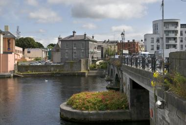 Athlone Town on the River Shannon in Westmeath