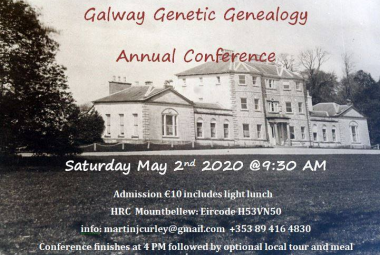 Galway Genetic Genealogy Conference 2020